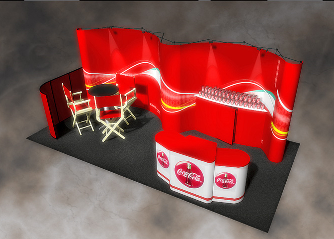 Coke Pop-Up-Display