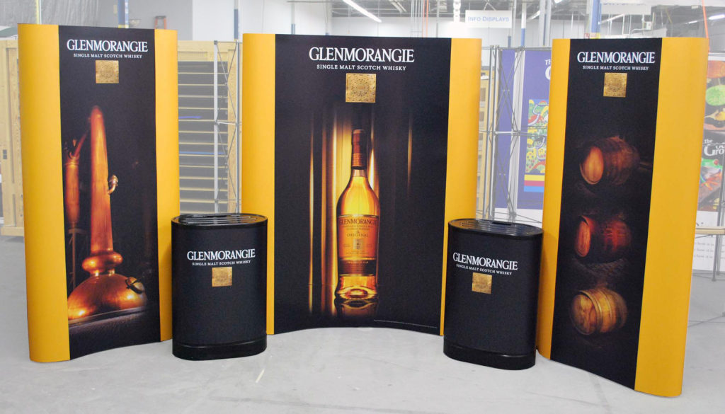 Hybrid Portable Tradeshow Display