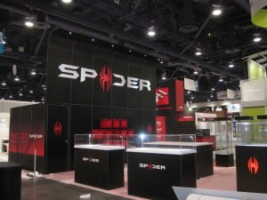 LED Lights Tradeshow Design