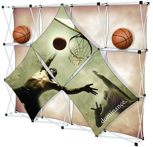 More Idea One Basketball Display