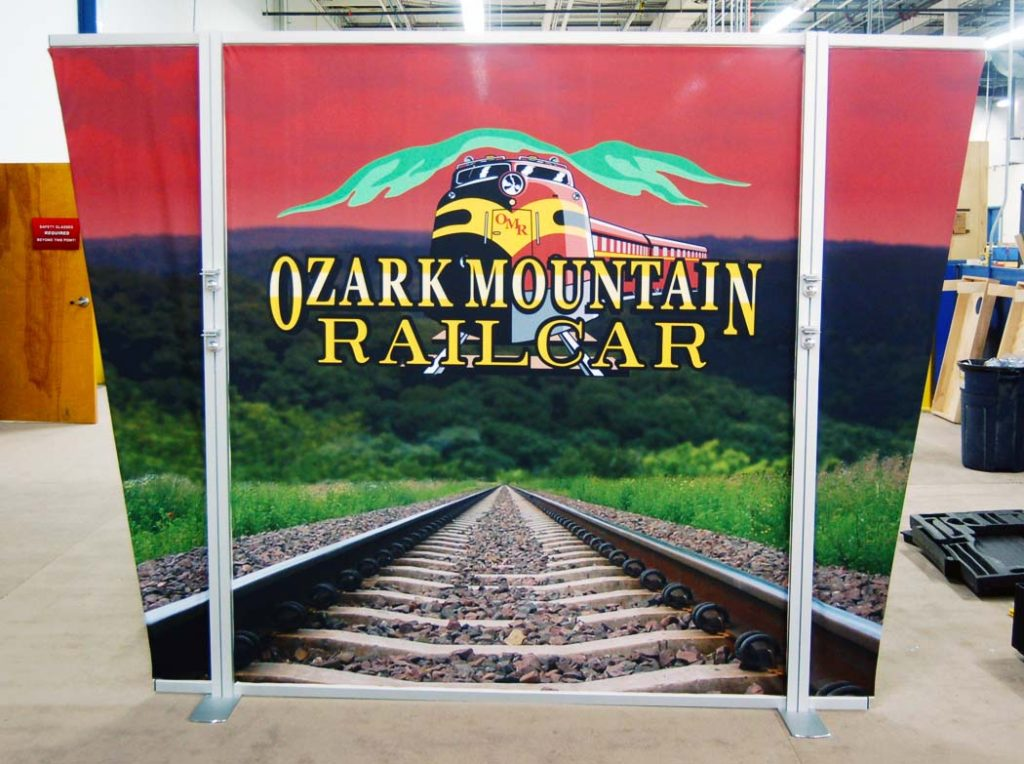 Ozark Mountain Rail hybrid-display