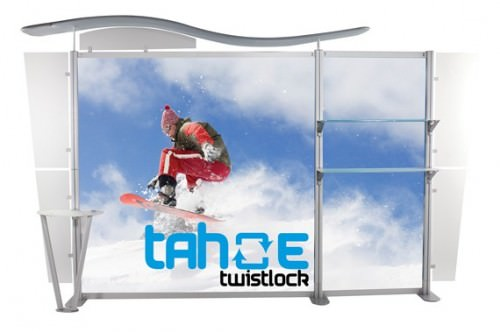 Tahoe Twistlock 14ft Trade Show Display