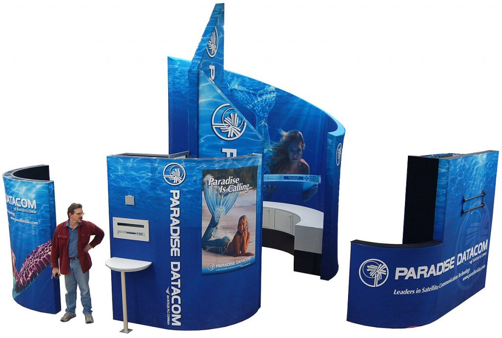 Trade Show Fabric Display