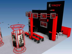 Troy Industries Tradeshow