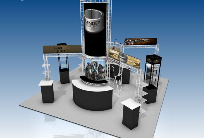 Truss System Trade Show Display
