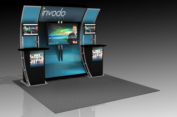 OutRigger Video Trade Show Display