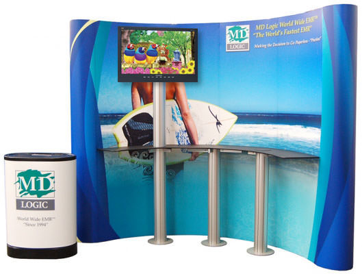 Visual Trade Show Video Display