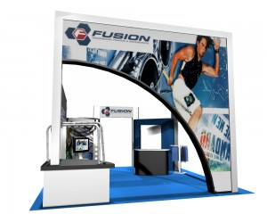 Custom Designed Trade Show Display by Eyekon Group, LLC