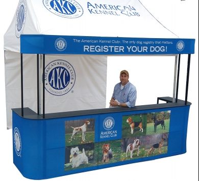 event tent counter provider