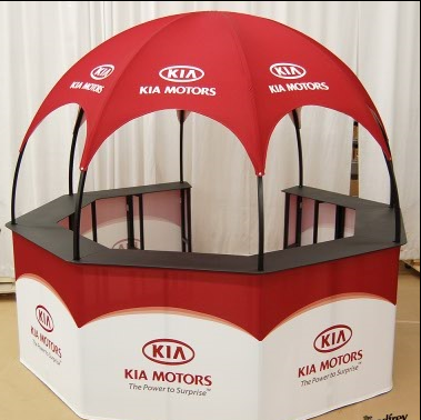 Kia Kiosk Dome promotional event